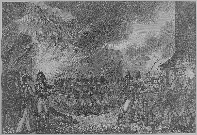 the burning of washington