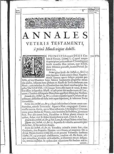 Annales Veteris Testamenti