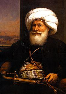 17 May - Muhammad Ali Becomes Wali of Egypt 220px-ModernEgypt%2c_Muhammad_Ali_by_Auguste_Couder%2c_BAP_17996